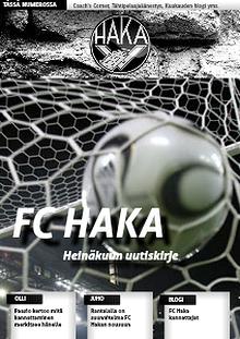 FC HAKA UUTISKIRJE