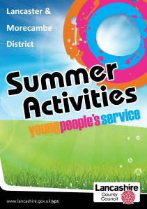 Summer Activities 2013 Lancaster & Morecambe