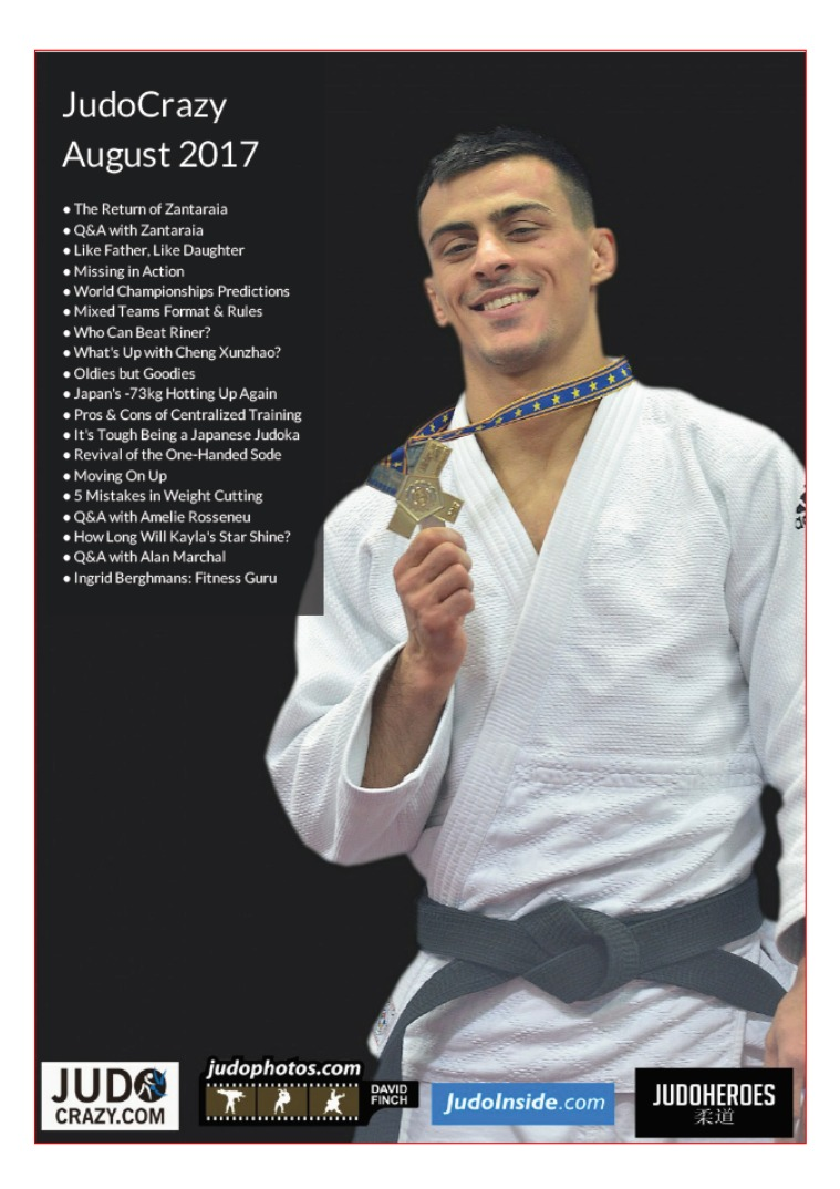 JudoCrazy E-Mag JudoCrazy Newsletter August Issue