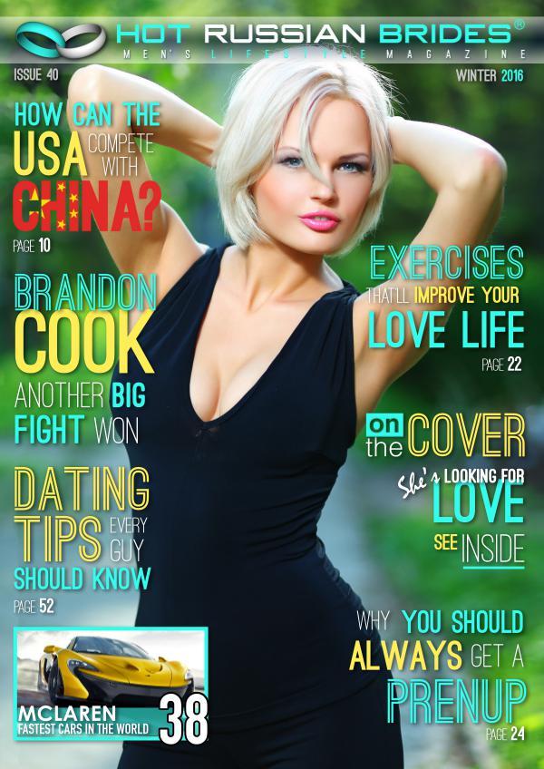 Hot Russian Brides® Men\'s Lifestyle Magazine™ Winter 2017 | Joomag ...