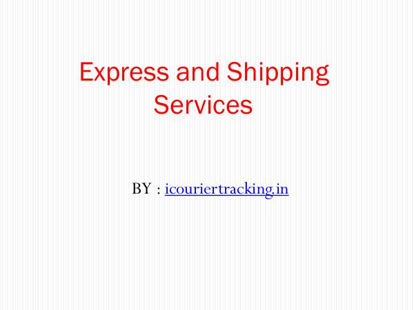 General Express and Shipping Services