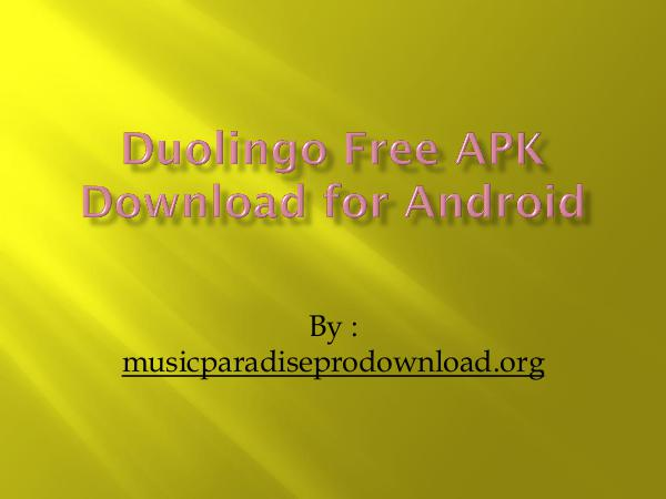 Music Duolingo Free APK Download for Android