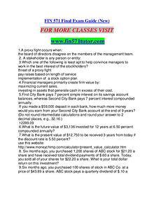 FIN 571 TUTOR Career Path Begins/fin571tutor.com