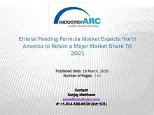 Enteral Feeding Formula Market Expects Europe to Continue Market Domi