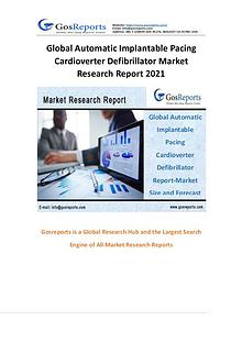Global Automatic Implantable Pacing Cardioverter Defibrillator Market