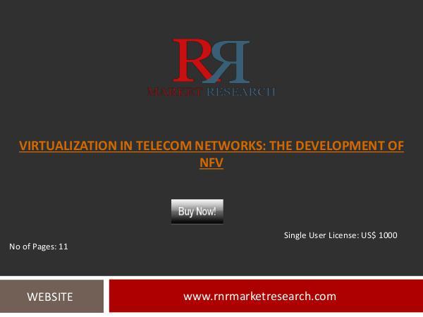 NFV Market Leading Telecom Operators Market Research Telecommunications Report