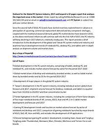 Amazon, Apple PC System Market Competitive Analysis