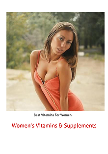 Women's Vitamins & Supplements