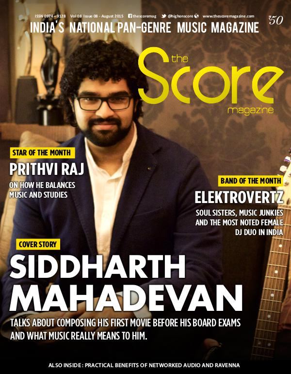 The Score Magazine - Archive August 2015 issue!