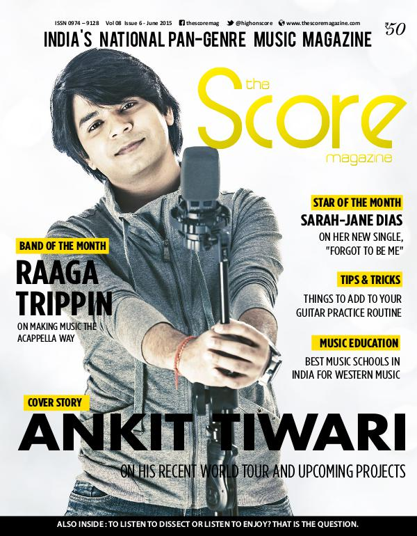 The Score Magazine - Archive June 2015 issue!