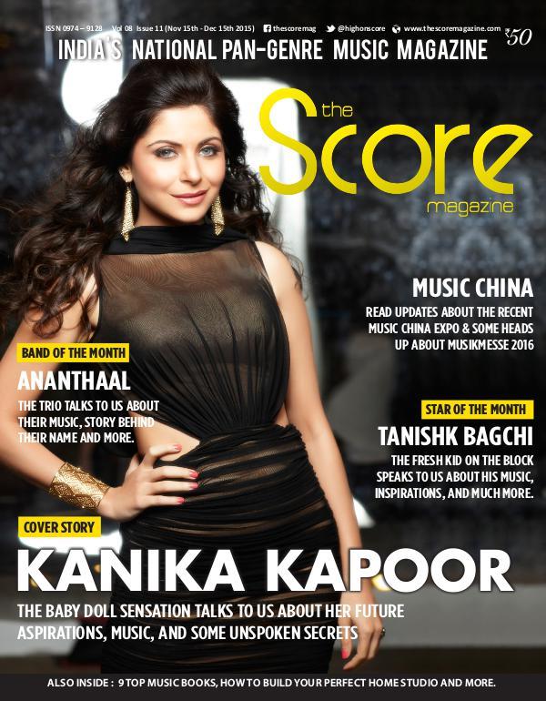 The Score Magazine - Archive Nov-Dec 2015 issue!