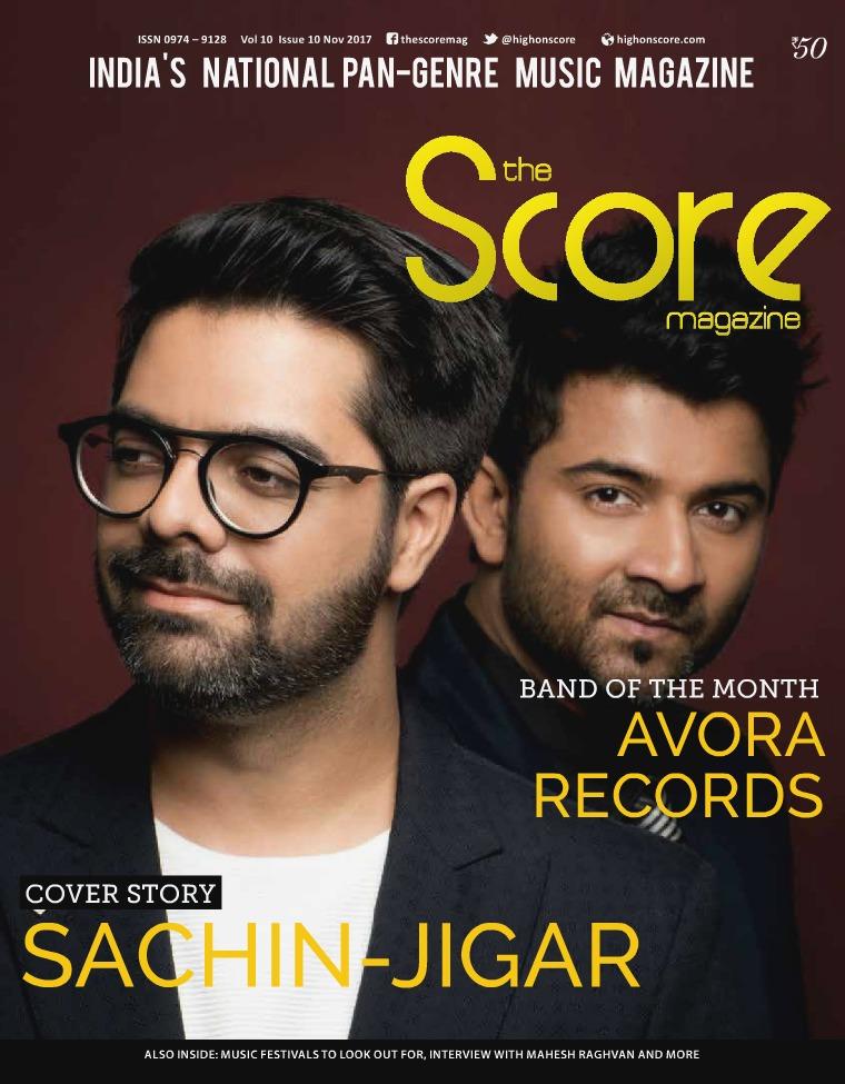 The Score Magazine November 2017 issue!