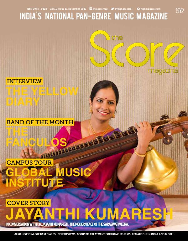 The Score Magazine December 2017 issue!