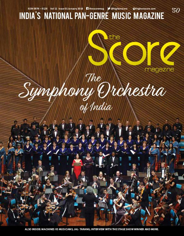 The Score Magazine January 2018 issue!