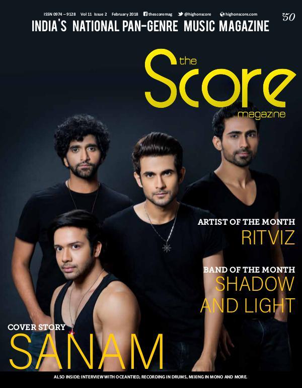 The Score Magazine February 2018 issue!
