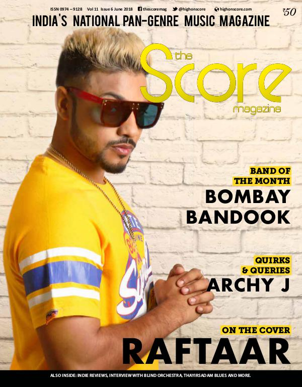 The Score Magazine June 2018 issue!
