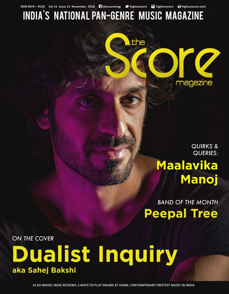 The Score Magazine November 2018 issue!