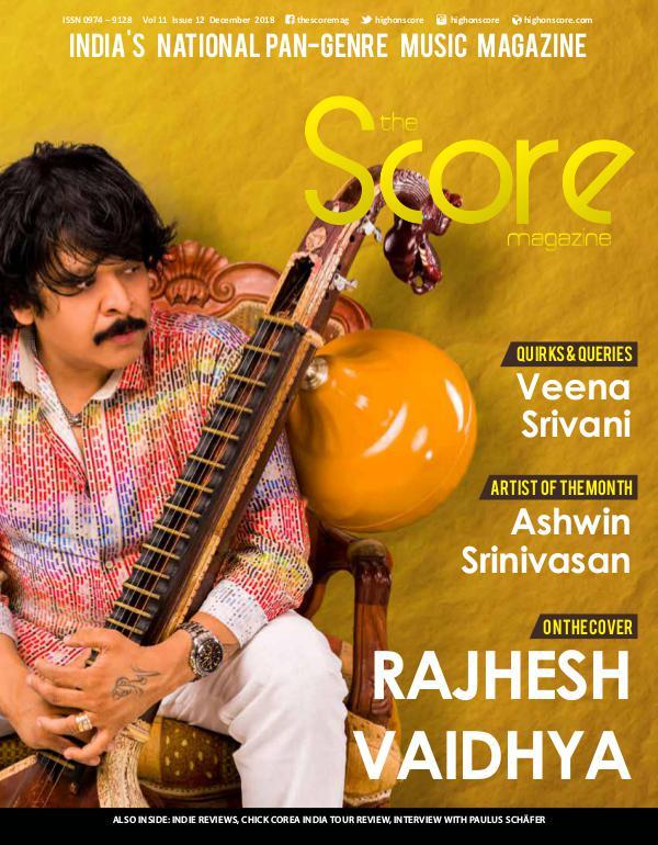 The Score Magazine December 2018 issue!