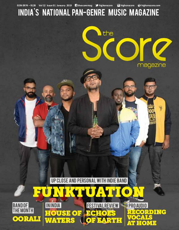 The Score Magazine January 2019 issue