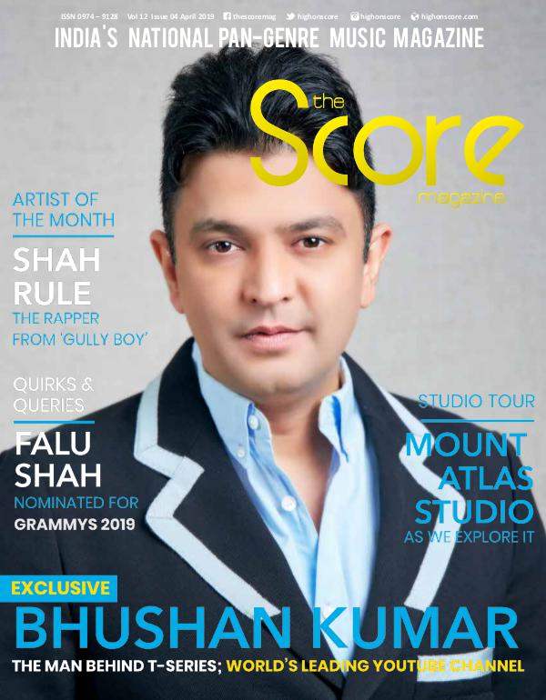 The Score Magazine April 2019
