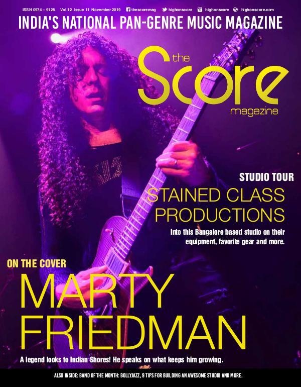 The Score Magazine November 2019 issue