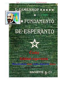 Fundamento de Esperanto česky