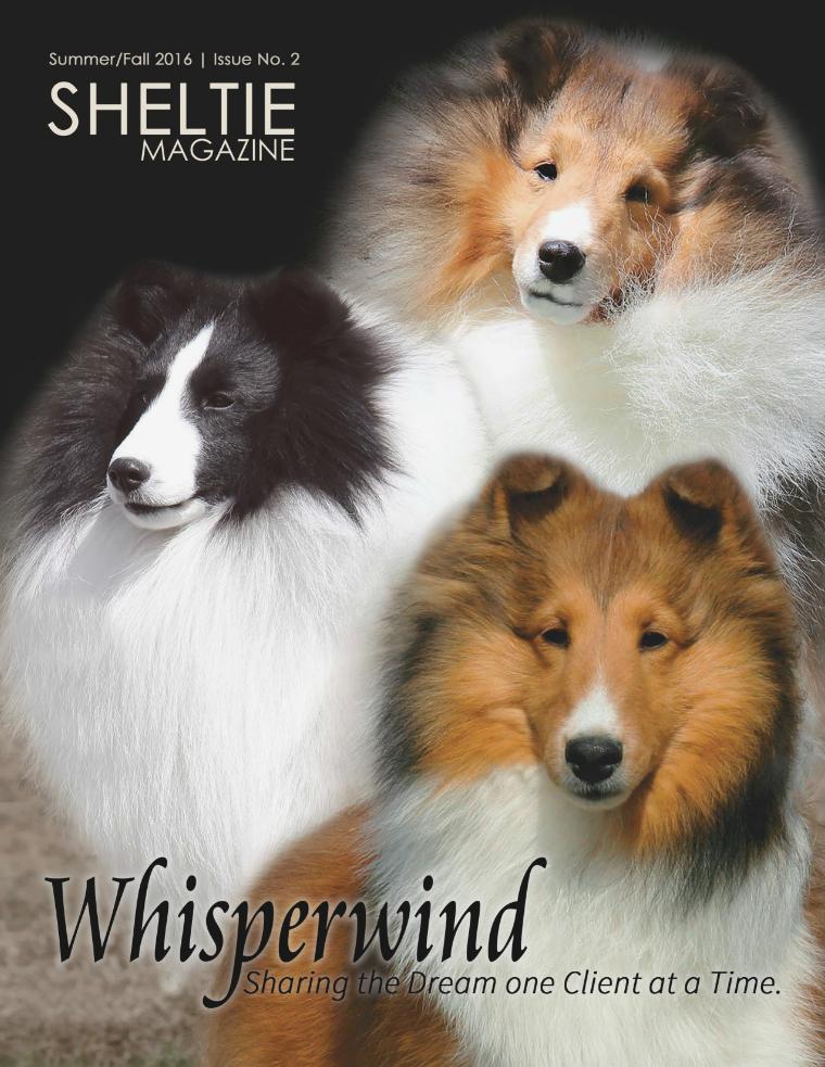 Sheltie Magazine Sample Issue: Summer/Fall 2016  Issue No.2