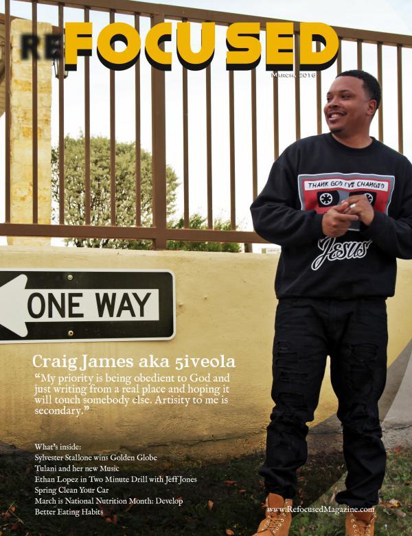 Refocused Magazine March 2016