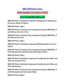 HRM 498 OUTLET Education Terms/hrm498outlet.com