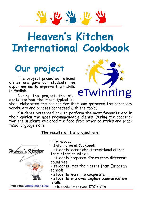 Heaven's Kitchen Cookbook Heaven's kitchen cookbook