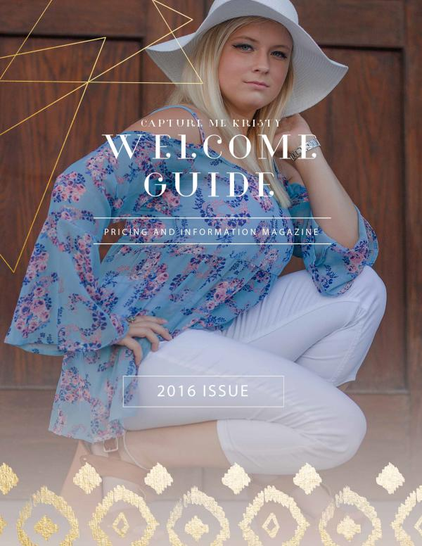 Capture Me Kristy 2016 Welcome Guide Welcome Guide