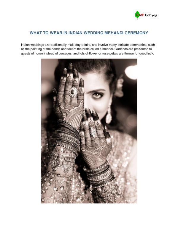 WHAT TO WEAR IN INDIAN WEDDING MEHANDI CEREMONY What to wear in Indian Wedding Mehandi Ceremony