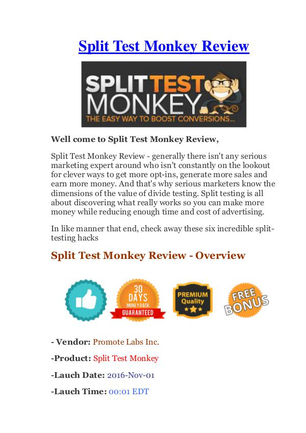 Split Test Monkey Review - It's Really Work Or Scam? whiteboard-review
