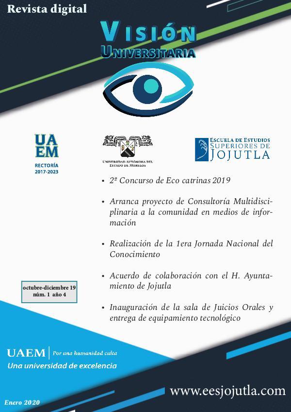 Revista Visión Universitaria - EESJojutla Núm. 1 / Año 4