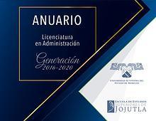 Anuario_ Administración Generación 2016-2020