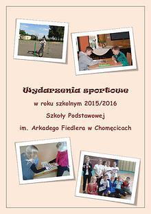 Wydarzenia sportowe w roku szkolnym 2015/2016