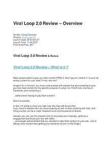 Viral Loop 2.0 Review - Does It Really Work!