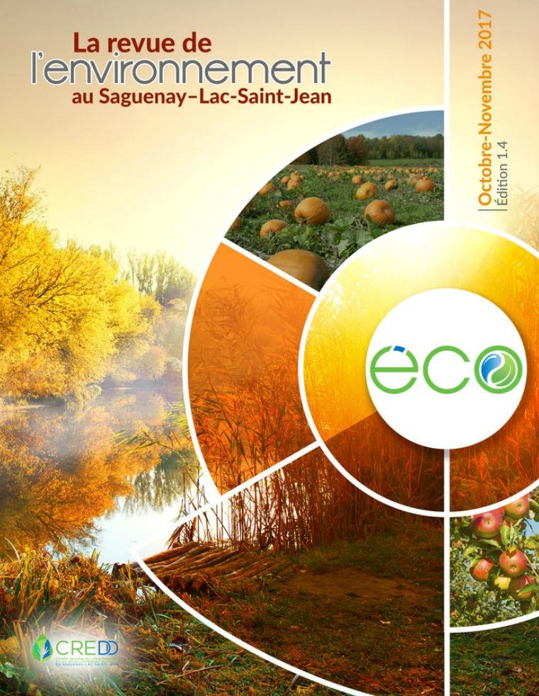 L'ÉCO, la revue de l'environnement du Saguenay Lac-saint-Jean Automne 2017