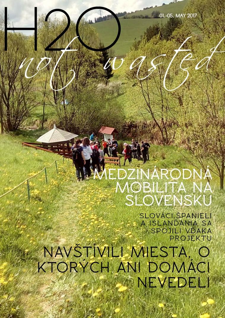 H2O not wasted - Medzinárodná mobilita na Slovensku 1