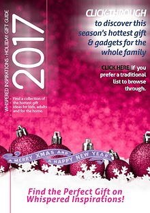 Holiday Gift Guide 2016 - Whispered Inspirations