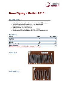 Nové paličky ZigZag 2015