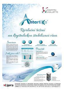 Revoluční řešení na krystalickou stabilizaci vína: ANTARTIKA®