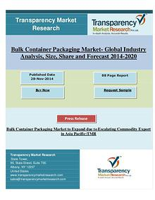 Global bulk container packaging market