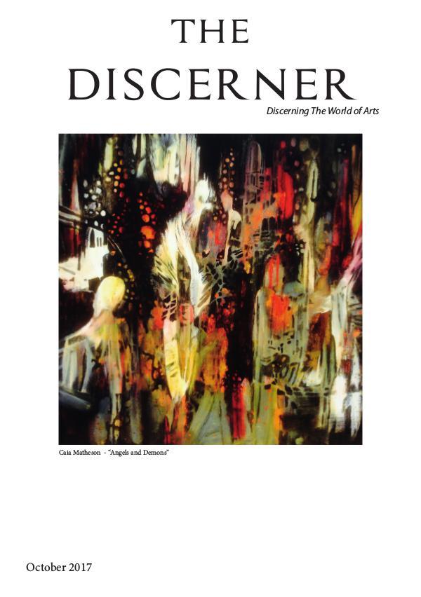 The Discerner Magazine The Discerner Art Publication October 2017