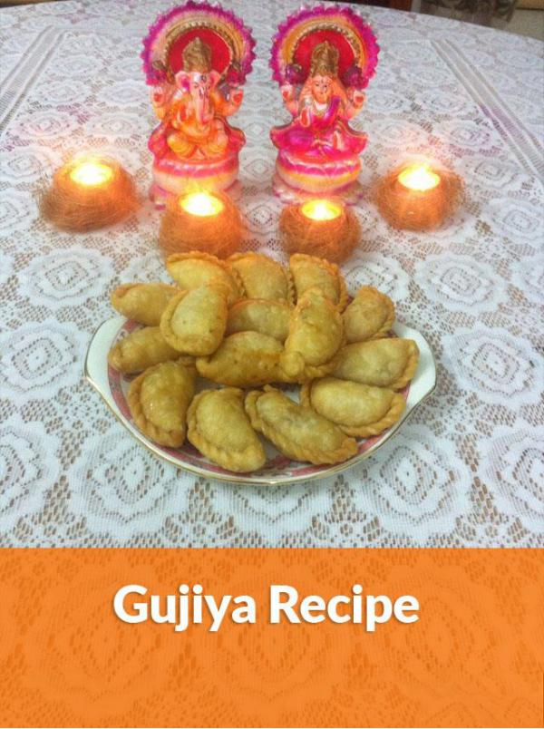 Easy Gujiya Recipe E