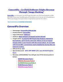 marketing ConvertPix review-(MEGA) $23,500 bonus of ConvertPix