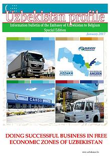 DOING SUCCESSFUL BUSINESS IN FREE ECONOMIC ZONES OF UZBEKISTAN