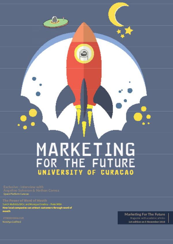 Marketing For The Future November 2016