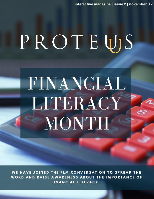 Proteus: Financial Literacy Month Volume 2