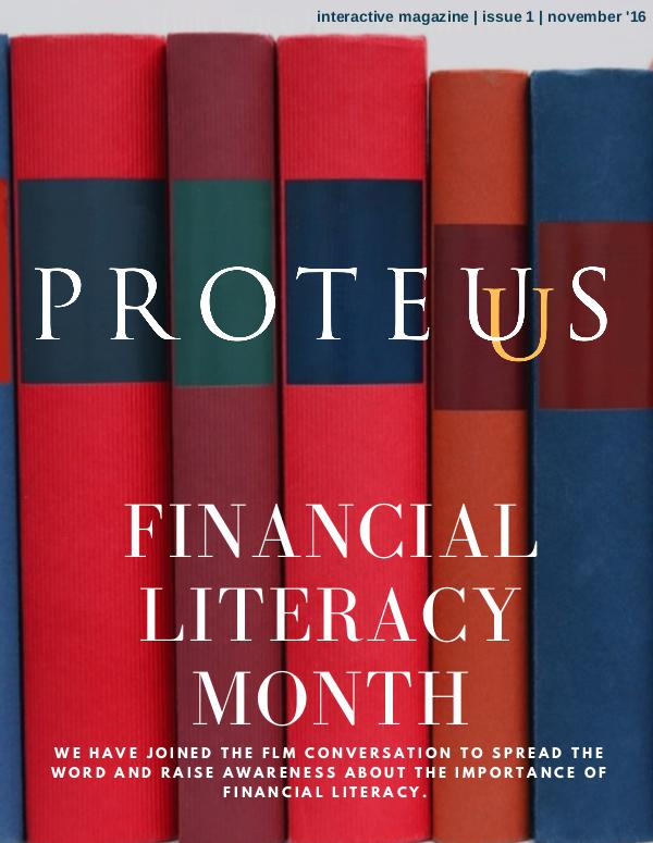 Proteus: Financial Literacy Month 1